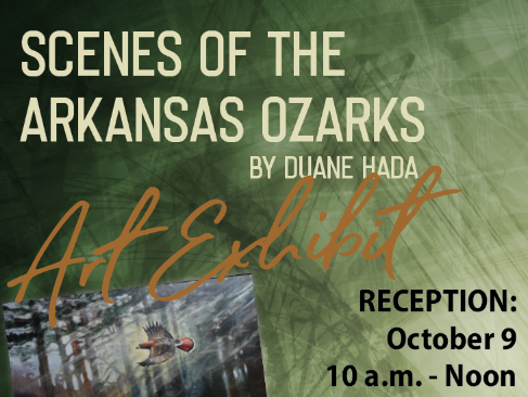 Ouachita Center to Host Acclaimed Outdoor Artist Duane Hada