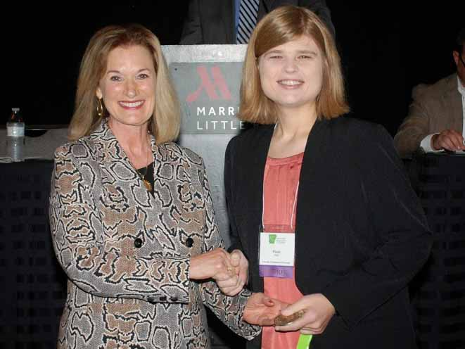 Jones Honored by ACC as UA Rich Mountain Outstanding Alumna